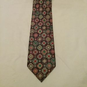 Saks Fifth Ave vintage silk tie.